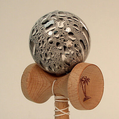 Bahama Kendama - Black Rain Drop - Awesome Wet Looking design -  Water Droplets!
