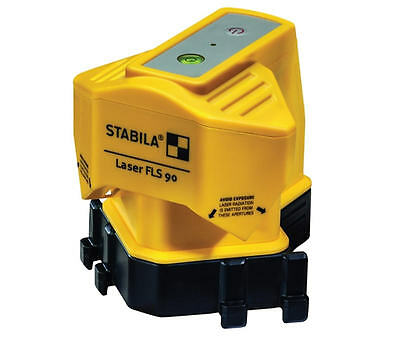 NEW STABILA 15m Ground/Surface/Floor Tile/Tiling Laser Line Level + Case FLS90