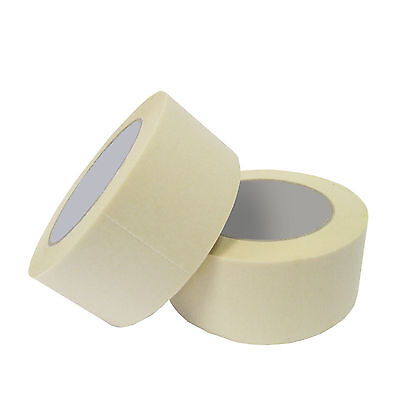 6 Rolls of Masking Tape 50mm x 50m General Purpose Best Quality BULK BUY
