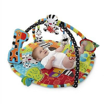 Infant Activity Gym Baby Play Mat Toy Tummy Time Development Music Washable