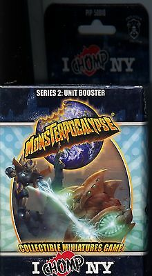 Monsterpocalypse I Chomp NY Series 2 Unit Booster Pack MINT