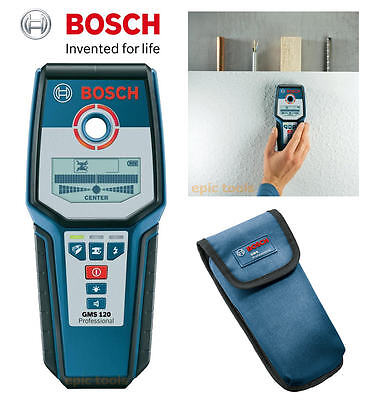 Bosch GMS120 Professional Multi Material Cable,Wire,Metal, Copper, Stud Detector