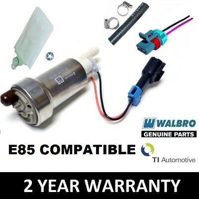 Walbro Gst450 455 Lph Fuel Pump Complete Kit+ Including E85 Compatible Harness