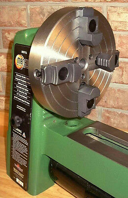 "Shop Fox Steelex 4-Jaw 6"" Wood lathe Chuck D1089 + Threaded Insert Included New"
