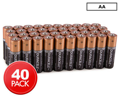 Duracell AA Batteries 40-Pack