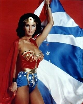 Lynda Carter Color 8x10 Photo 1 WONDER WOMAN LOOKING HOT AND SEXY