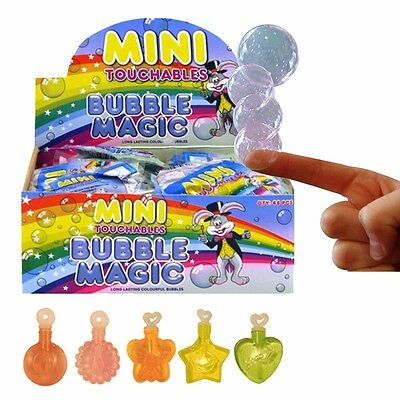 Mini Magic Touchable Bubbles Child Boys Girls Toy Birthday Party Bag Fillers