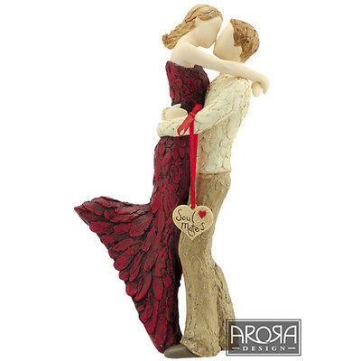More Than Words Soul Mates Figurine Engagement Anniversary or Wedding Gift