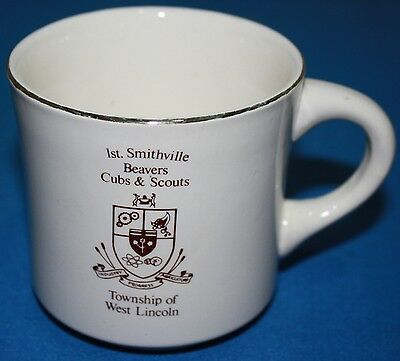 Boy Beaver, Cubs & Scouts Of Canada Mug-1St Smithville, On