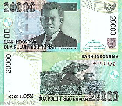 INDONESIA 20000 Rupiah Banknote World Paper Money UNC Currency Bill p151d Note