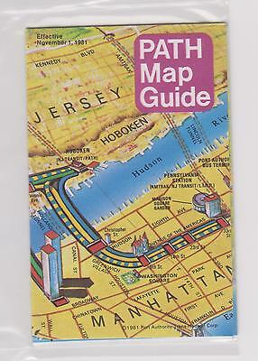 MINT  1981     PATH       Map - Guide - Timetable