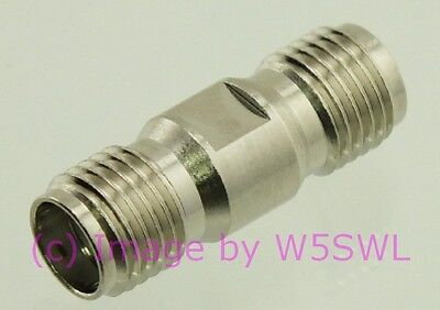 Smooth Wall Barrel by W5SWL ® Coax Adapter BNC Double Female