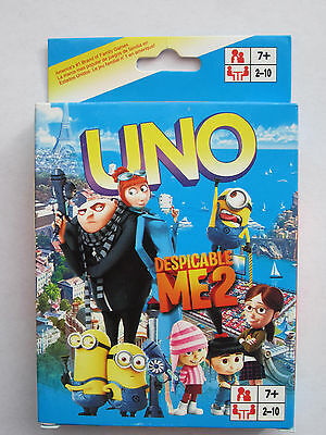 DESPICABLE ME themed UNO Playing Cards BRAND NEW Ships from Melbourne