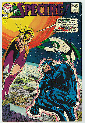 Spectre #3 6.5 Neal Adams Art Off-White Pages Silver Age