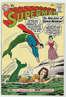 Superman #139 2.5 Off-White To White Pages Silver Age