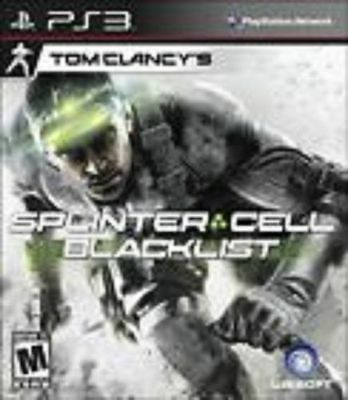 Tom Clancy's Splinter Cell Blacklist GAME Sony Playstation 3 PS PS3