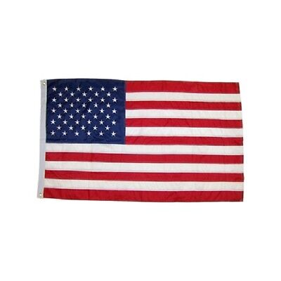 USA Embroidered Flag US American Banner 3x5 Nylon United States Pennant Sewn