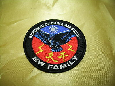 (C2) ROC Taiwan Air Force patch - EW Family