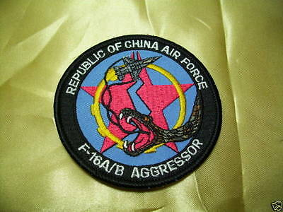 (C2) ROC Taiwan Air Force patch - F-16 A/B AGGRESSOR #A