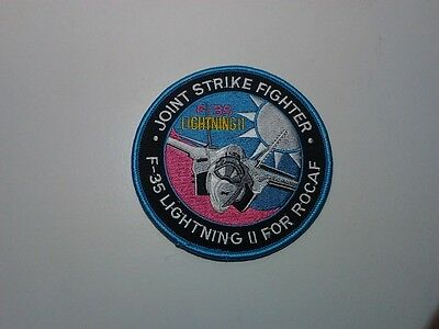 (C2) ROC Taiwan Air Force patch - F-35 Lightning II for ROCAF