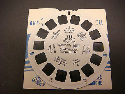 Sawyer's Viewmaster Reel,Lookout Mountain Chattanooga Tennessee Point Park #338