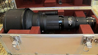 Nikon 600mm Lens, F4 ED IF Manual Focus with Accessory Bundle