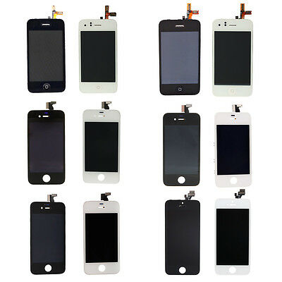 US Parts LCD Display Screen+Touch Digitizer Assembly Frame for iPhone 5/4/3GS/3G