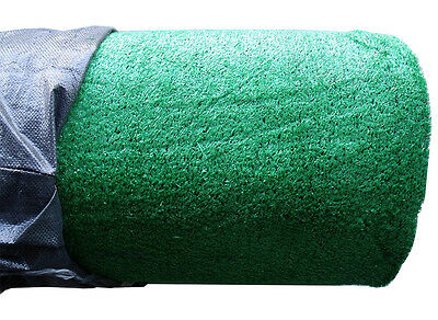 Synthetic Grass Artificial Turf Lawn Flooring 25sqm Roll 1x25m,10mm File New