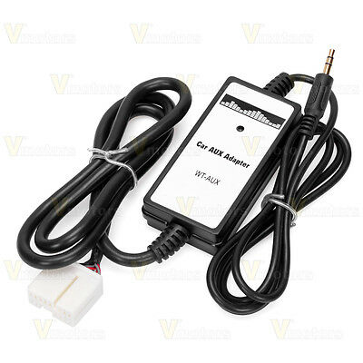 Car Audio MP3 CD Player Interface AUX Adapter For Honda Accord Civic Odyssey CRV