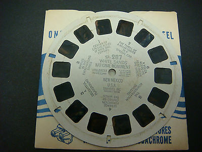 Sawyer's Viewmaster Reel,White Sands National Monument New Mexico  #SP-287