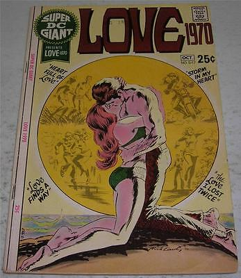 SUPER DC GIANT S-17 LOVE 1970 (DC Comics 1970) Nick Cardy cover (VG+) SCARCE