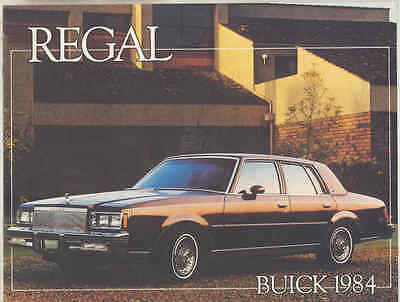 1984 Buick Regal Brochure Canada my3049