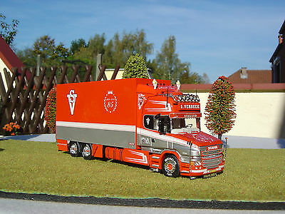 Truck  Scania T. Verbeek Tekno  No Trailer  New 1:50