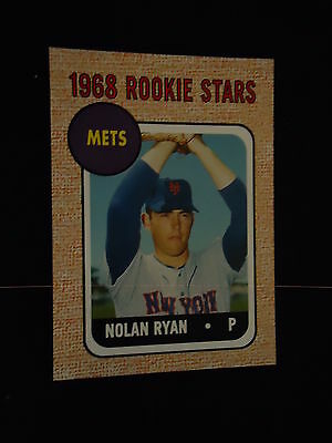 Nolan Ryan 2006 Topps Rookie of the Week Reprint  New York Mets