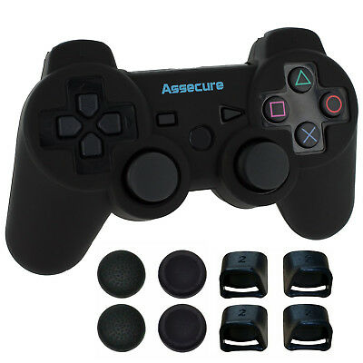 ZedLabz Pro comfort & grip pack for PS3 controller silicone case trigger caps