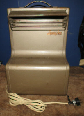 VINTAGE INDUSTRIAL FAN SUPERFAN P-500 QUEEN STOVE WORKS AWESOME CONDITION