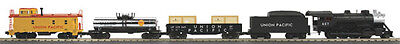 MTH 30-4228-1, 2-8-0 Steam Freight Train Set w/ Proto-Sound 3.0 UP Union Pacific