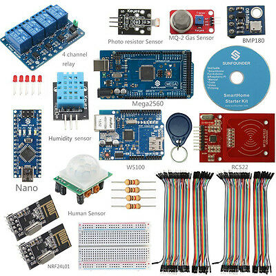 SunFounder DIY SmartHome System Internet of things Kit for Arduino Raspberry Pi2