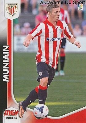 N°033 Muniain # Espana Athletic Club Card Panini Megacracks Liga 2015