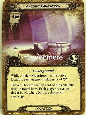 Lord of the Rings LCG  - 1x Ancient Guardroom  #055 - The Road Darkens