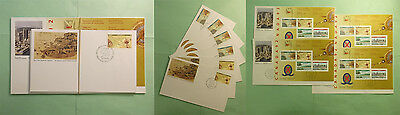 Canada Lot of 10 Beautiful 1992 First Day Covers in ...