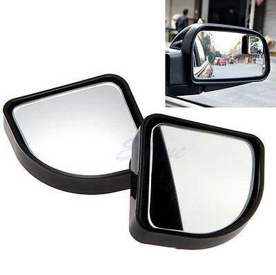 Universal Blind Spot Mirror Convex Wide Angle Rear Side View For Car Vehicle