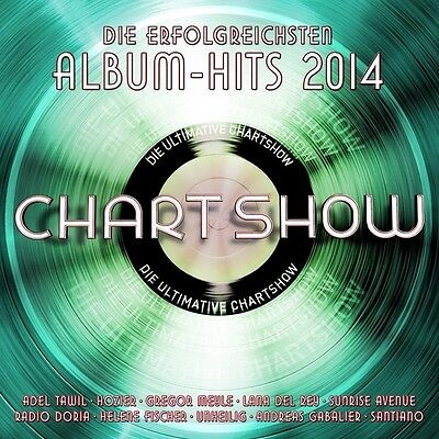 Die Ultimative Chartshow-Album-Hits 2014 2 Cd Neu