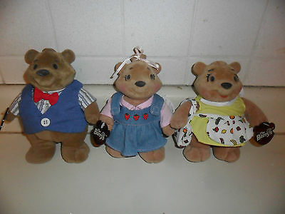 1998 THE BARRYS COLLECTIBLE TOY BEARS MARY SHERRY HARRY