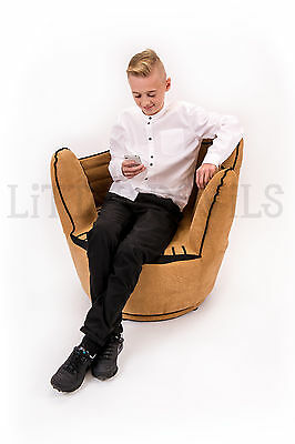 EXTRA LARGE GLOVE CHAIR - ARMCHAIR/GAMES/GAMING for KIDS, CHILDREN or ADULTS