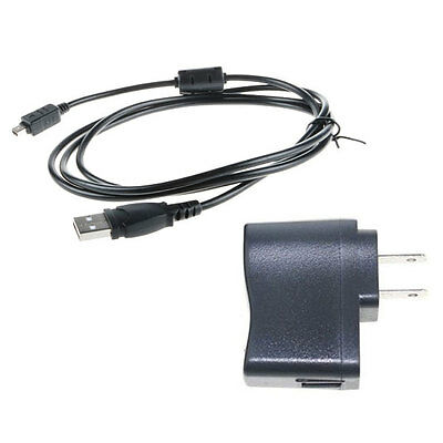 Wall AC Power Adapter Camera Battery Charger Cord for Olympus SP-720 UZ SP720