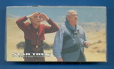 Star Trek Generations.complete Set Of 72 Trading Cards Issued By Skybox In 1994