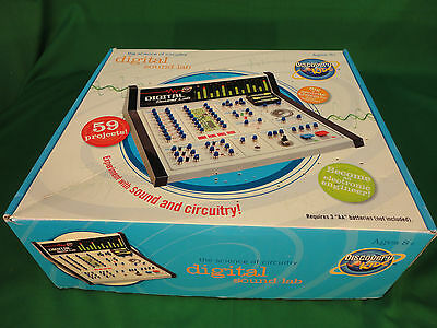 Discovery Kids Educational Digital Electronic Sound & Circuitry Lab in Box