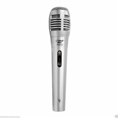 PYLE PRO PDMIK1 Professional Dynamic Handheld Microphone with Mic Cable
