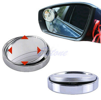Angle Wide Convex Car Auto Blind Spot Round Stick-On Side View Rearview Mirror